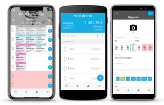 Application ERP Akuiteo : gestion des notes de frais