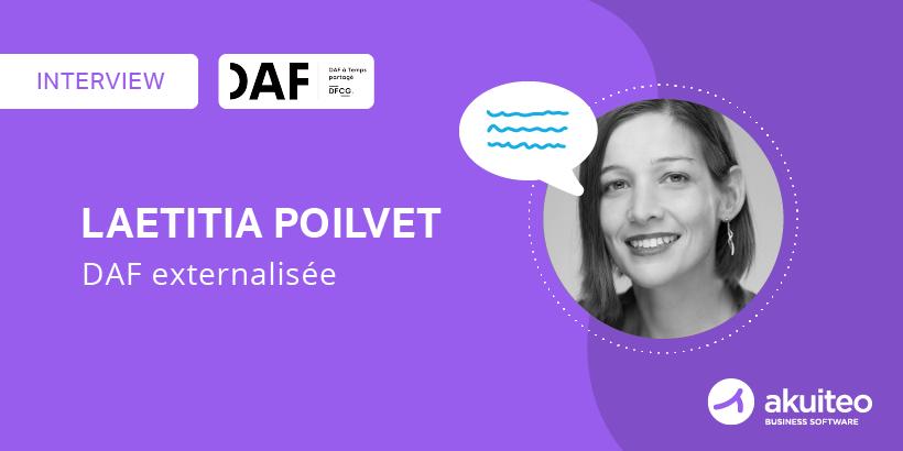 Interview de Laetitia Poilvet, DAF externalisée