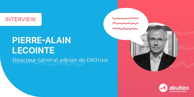 Pierre-Alain Lecointe vous parle du développement international et de l'ERP de Dilitrust